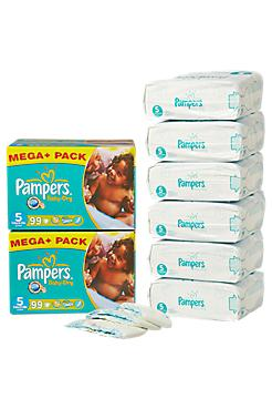 Super deal: mega packs luiers