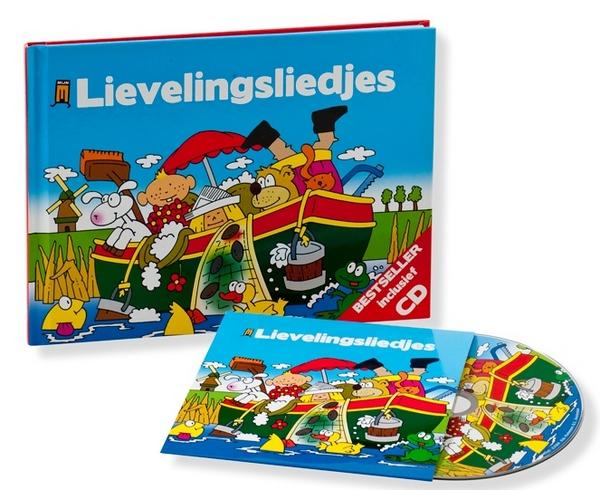 Win 'Lievelingsliedjes' boek + cd!