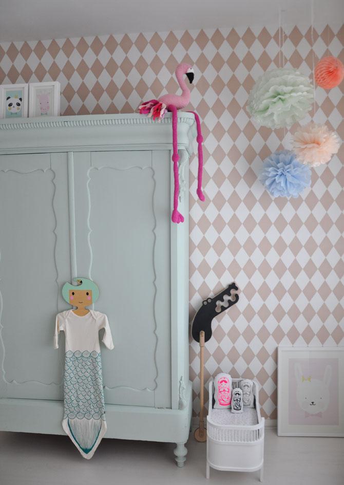 styling babykamer: lief en een tikkeltje stoer - mama glossy, Deco ideeën