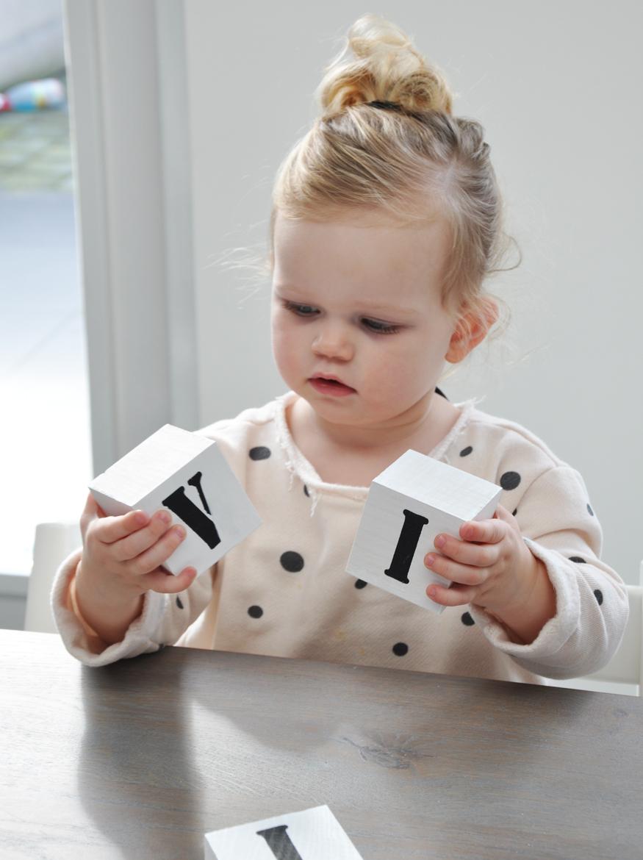 letter blokken Olivia Mama Glossy