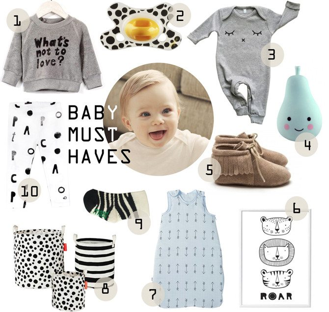 SHOPPING | NEWBORN MUSTHAVES