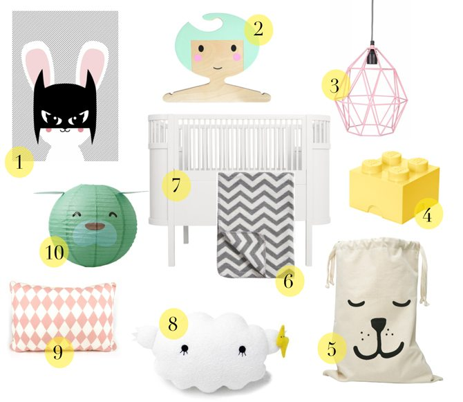 10 X KINDERKAMER MUSTHAVES