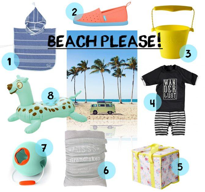 BEACH PLEASE | 8 X VAKANTIE MUSTHAVES