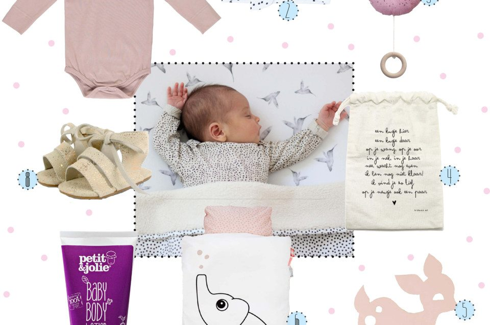 8X BABY MUSTHAVES VOOR GIRLS